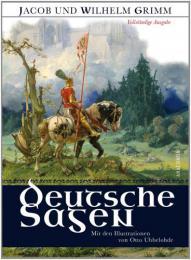 【ドイツ語の本】Deutsche Sagen - Vollständige Ausgabe