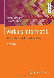 【ドイツ語の本】Vorkurs Informatik