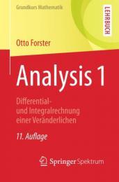 【ドイツ語の本】Analysis 1
