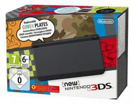 【ドイツ版New3DS】New Nintendo 3DS schwarz (ブラック)