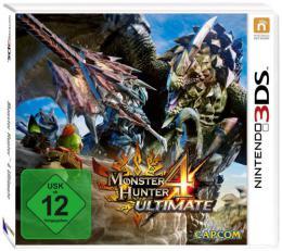 【ドイツ版3DS】モンスターハンター 4G