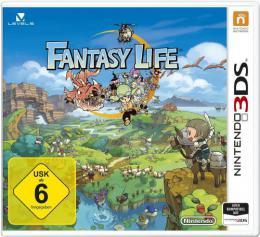 【ドイツ版3DS】ファンタジーライフ