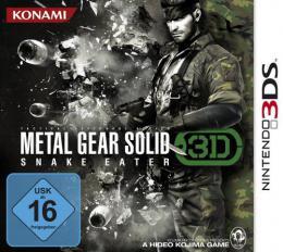 【ドイツ版3DS】メタルギアソリッド3