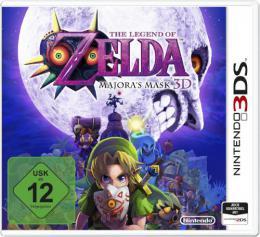 【ドイツ版3DS】ゼルダの伝説 ムジュラの仮面