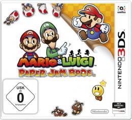 【ドイツ版3DS】マリオ&ルイージRPG ペーパーマリオMIX