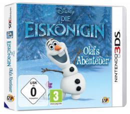 【ドイツ版3DS】アナと雪の女王 オラフの冒険