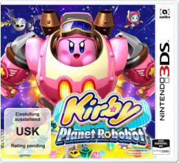 【ドイツ版3DS】星のカービィ ロボボプラネット