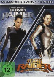 【ドイツ語学習の教材に】トゥームレイダー 1&2 セット |ドイツ語映画DVD